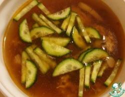 Быстрый грибной суп