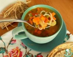 "Овощной суп ""Почти минестроне"""