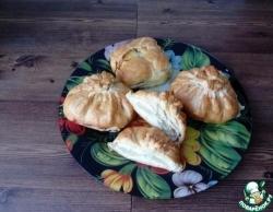 Куриная грудка с ананасами в мешочках