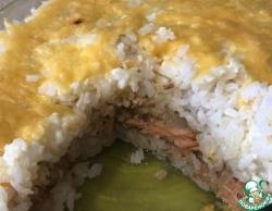 Горбуша в рисовой шубе
