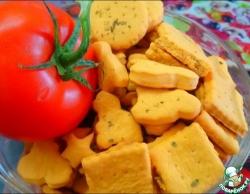 Легкое печенье с томатным соком