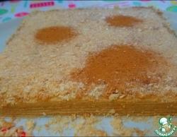 """Крем """"Халва с корицей"""" и торт"""