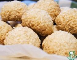 Хрустящее, ароматное кокосовое печенье