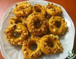 Бананово-медовые колечки с орехами