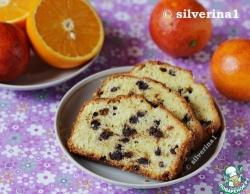 Апельсиновый кекс с шоколадом