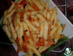 Макароны с овощами постные