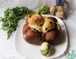 Рыбный суп с помидорами и сметаной