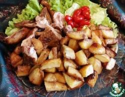 Суп-пюре с брокколи и яблоком