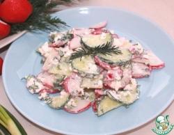 Рыба под сырно-грибным соусом