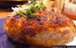 Кулинарный рецепт Котлеты из лосятины с фото