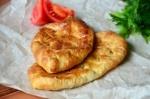 Кулинарный рецепт Слойки с картофелем и грибами с фото