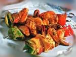 Кулинарный рецепт Шашлычки из рапана с фото