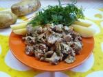 Кулинарный рецепт Лисички в духовке с фото