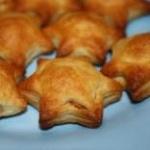 Слоеные пироги с рыбой Звездочки