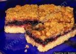 Рецепт Пирог с яблочным вареньем и миндальной крошкой с фото