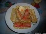 Крабовые палочки фаршированные рецепт с фото