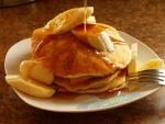 Рецепт Тонкие банановые панкейки без масла с фото