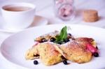 Кулинарный рецепт Сладкий творожный омлет с фото