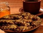 Рецепт Лёгкое диетическое печенье из овсянки на кефире с фото