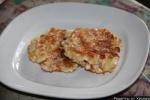 Оладушки из крабовых палочек и сыра
