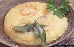 Кулинарный рецепт Полента таранья с фото