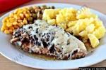 Кулинарный рецепт Куриная грудка с грибами и сыром с фото