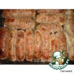 """""""Домашние колбаски"""" с гречкой, мясом и грибами"""