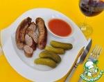 Колбаски итальянские на гриле