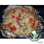 Филе индейки запечeнное с овощами в фольге