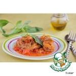 Osso-bucco из индейки с базиликом