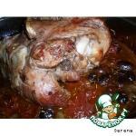 Мясо индейки с красным вином