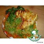 Индюшиное крыло, запеченное с овощным гарниром