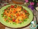 Рис с индейкой и сушеной вишней