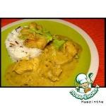 Рыба-карри в ревеневом соусе