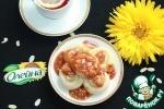 Блинчики с медово-карамельным соусом