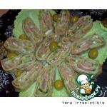 Рулет из лаваша с рыбно-авокадной начинкой
