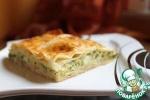 Пирог со шпинатом и сыром фета