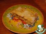 Легкий пирог из сёмги