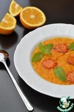 Каша геркулесовая с карамельной морковью