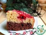 Двойной пирог с ягодами и орехами