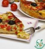 Сырно-овощная запеканка