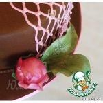 Листочки для цветочков  из сахарной мастики
