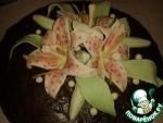 Лилии из мастики