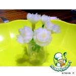 Цветы из мелкого лука
