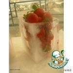 Чаша из льда для сервировки фруктов