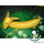 Собачка из бананов