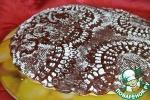 Кружевное украшение для кекса, торта или пирога