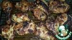 Куриные части в маринаде гриль