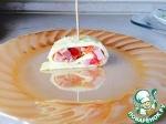Рулетик на завтрак из яиц