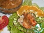 Креветки с апельсиновым соусом